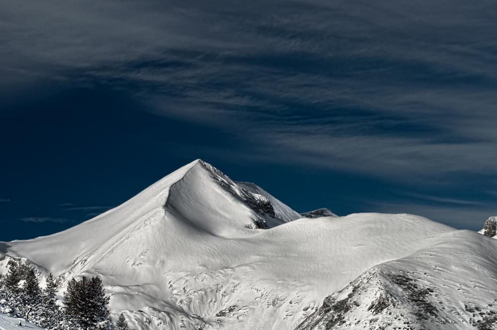 Mountain Peak in Bansko, Bulgaria by ROBERT CLARIDGE