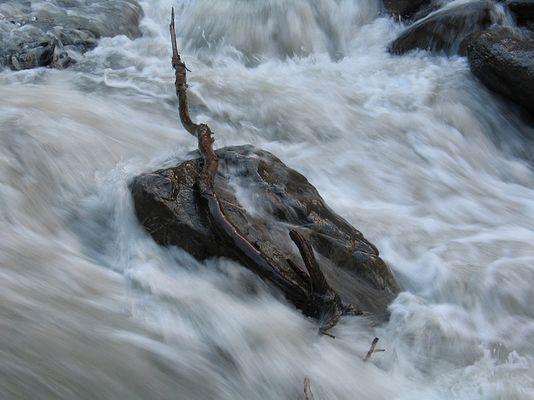 Mountain River in Switzerland