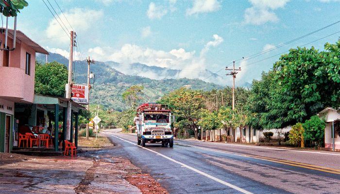 Mountain Road, en route to Armenia, Colombia