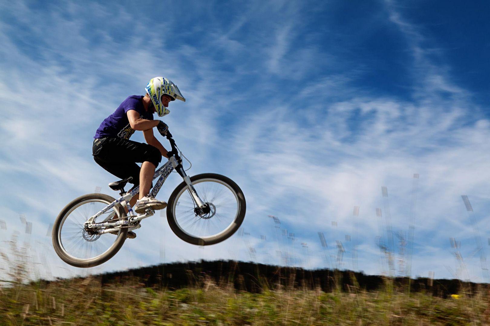 Mountainbiker in Winterberg Part II
