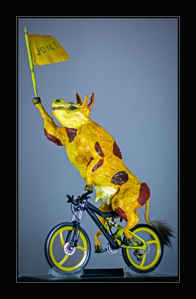 Mountainbikerin