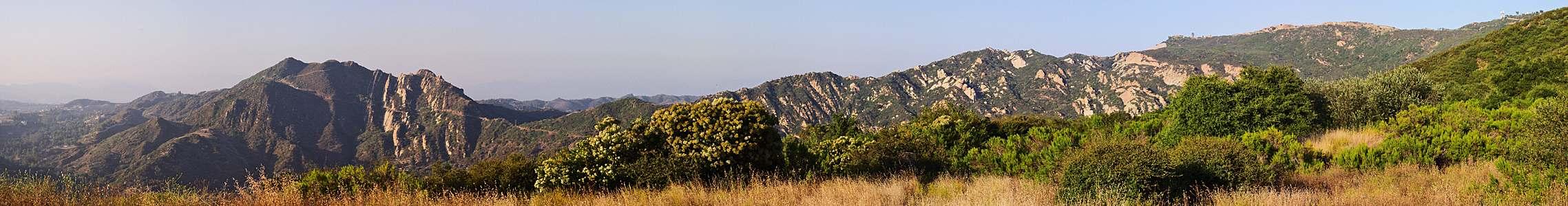 Mountains near Malibu