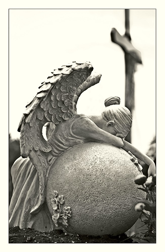 Mourning.... (Tears of sorrow)