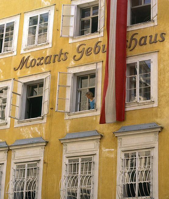 Mozarts Geburtshaus...