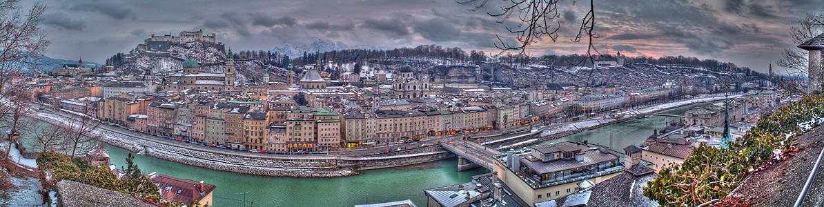 Mozartstadt Panorama