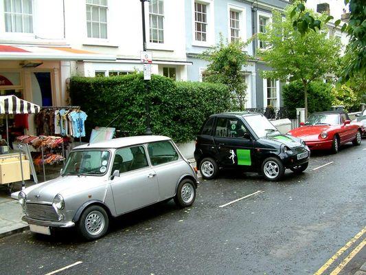 Mr. Bean parkt korrekt