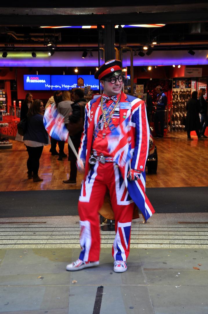 Mr. Cool Britannia is dancing...