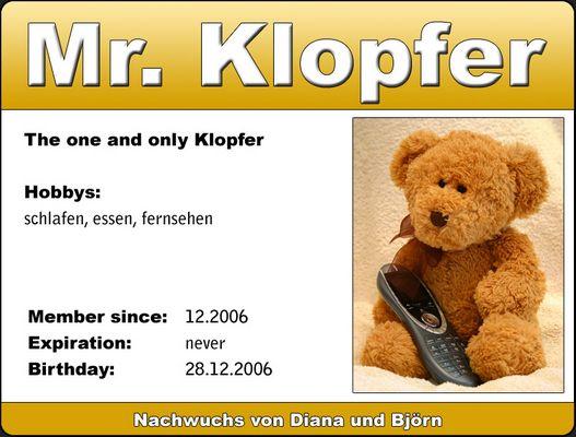 Mr. Klopfer