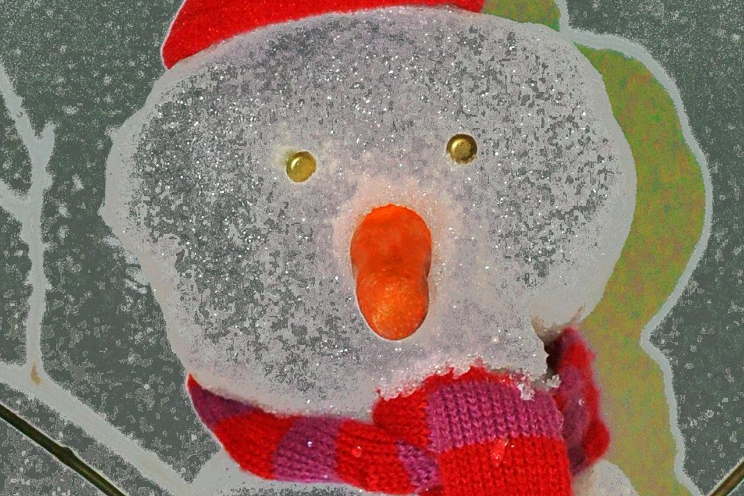 """""""Mr. Snowman, bring us a dream....."""""""