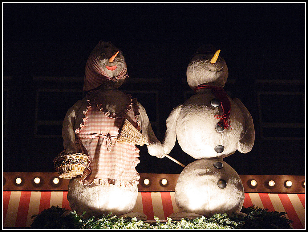 Mrs. and Mr. Frosty