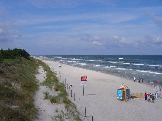 Mrzezyno an der Ostsee
