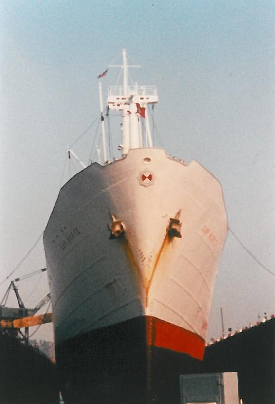MS Cap Norte im Dock in NYC