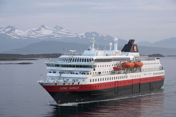 M/S Kong Harald in Molde