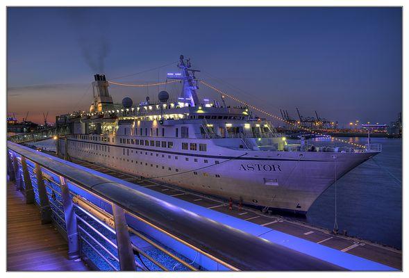 MS/ASTOR bei den Hamburg Cruise Days