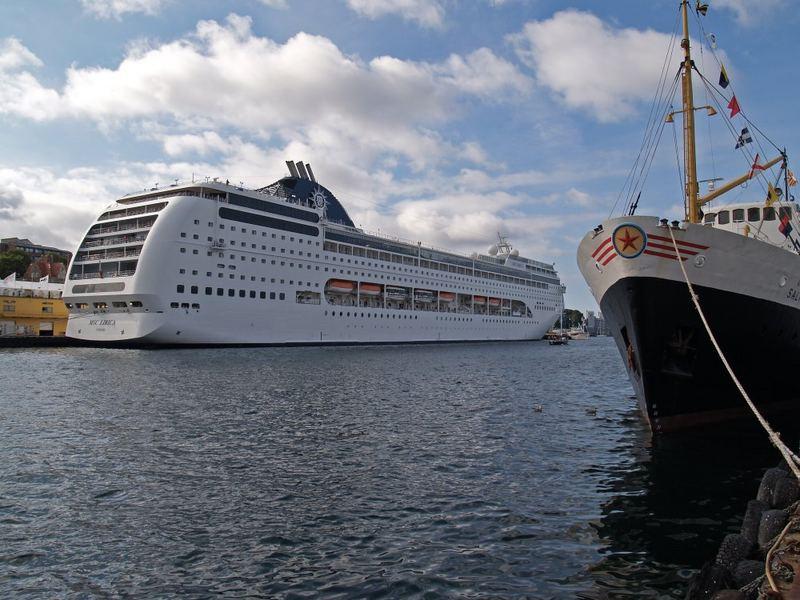 MSC Lirica in Stavanger