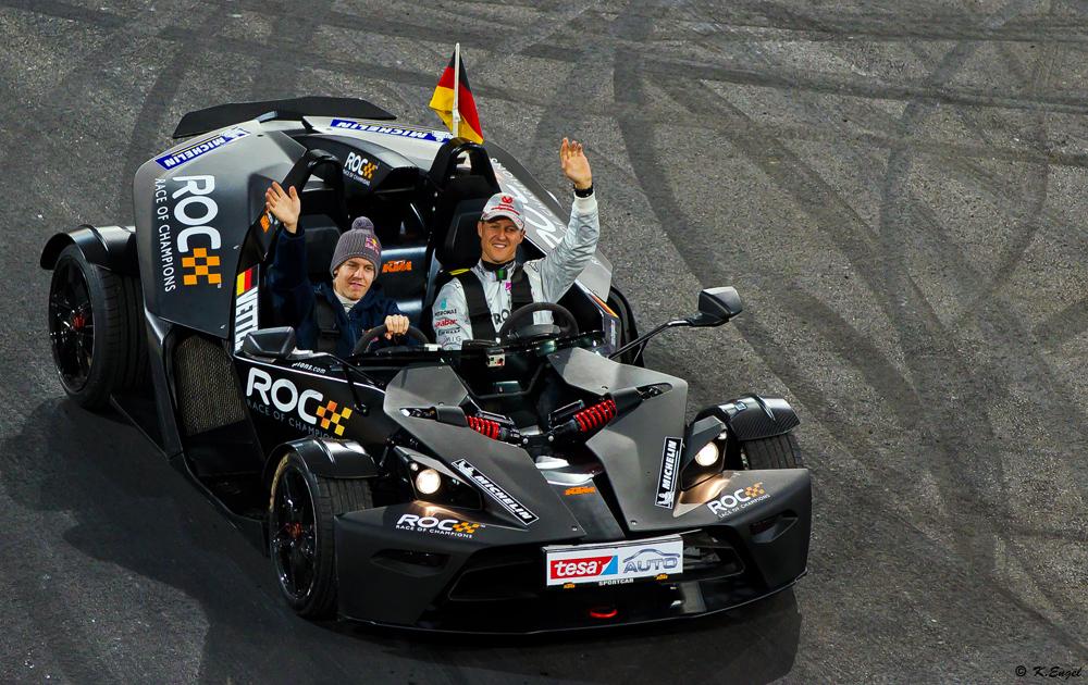 M.Schumacher und S.Vettel ................