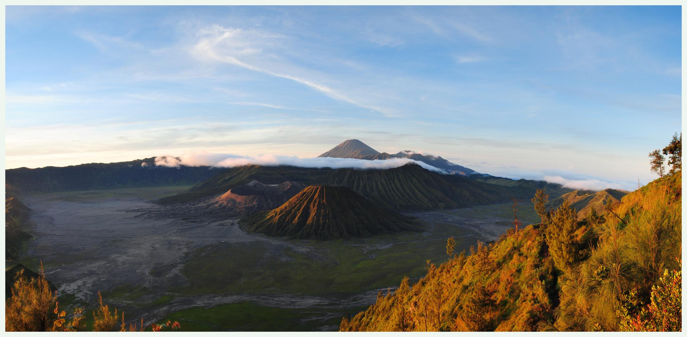 Mt. Bromo...