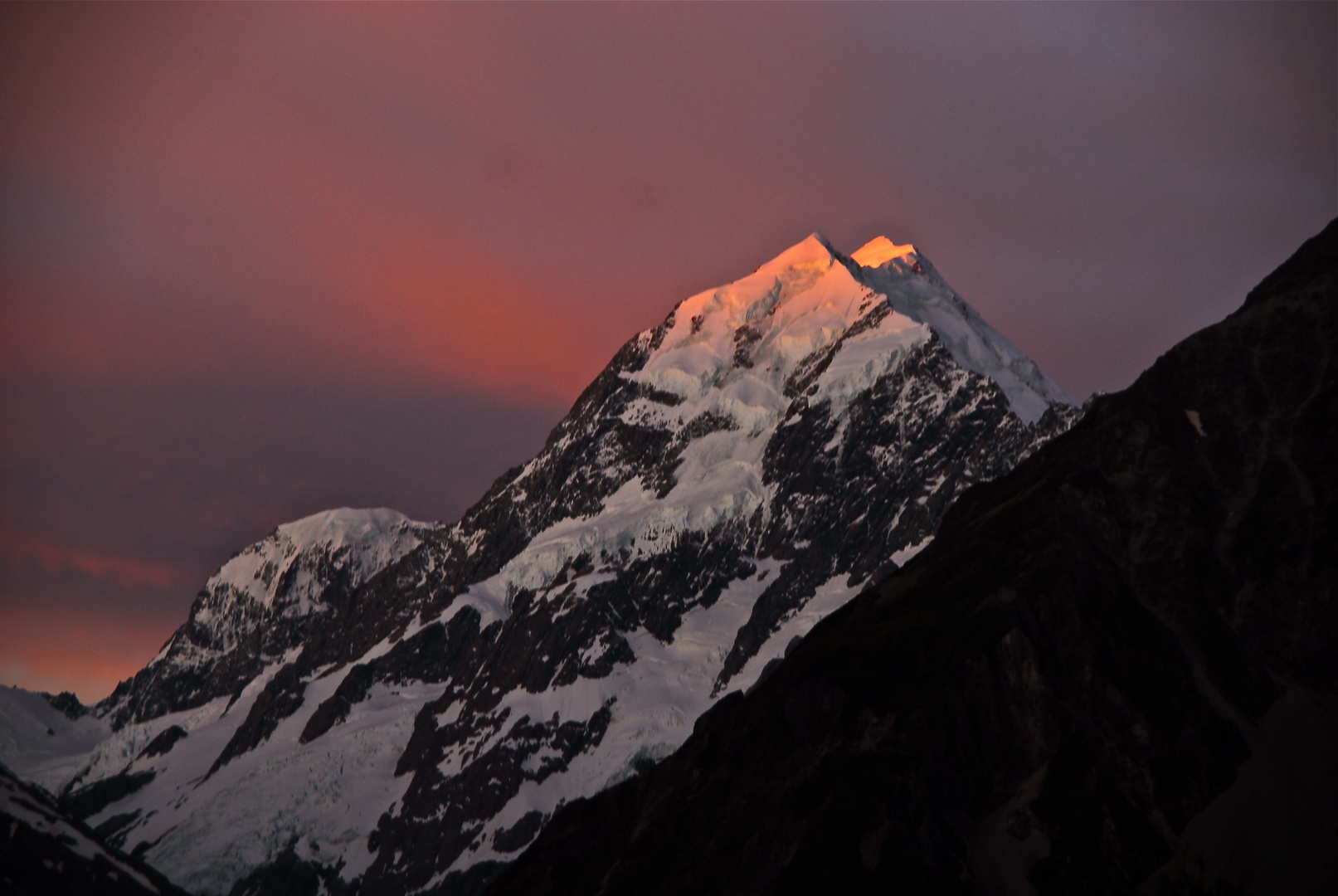 Mt Cook Sunset 2