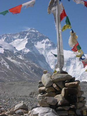 Mt. Everest / Tibet - auf dem Weg zum Basislager II