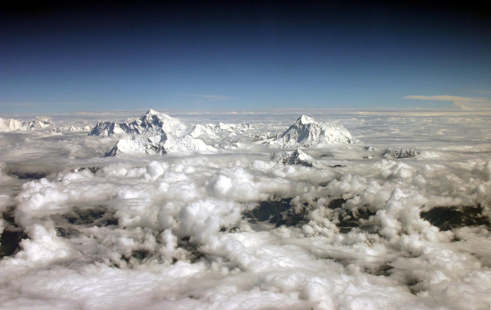 Mt. Everest und Makalu
