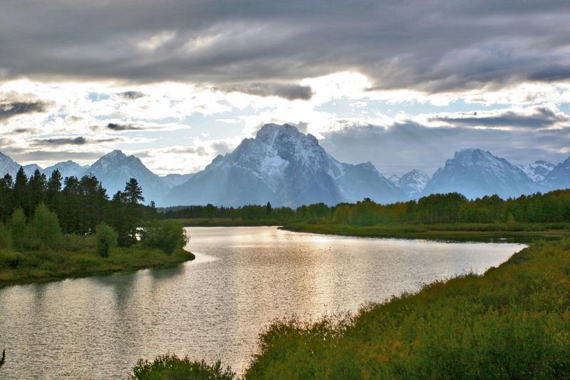 Mt. Moran Teton Range Wyoming