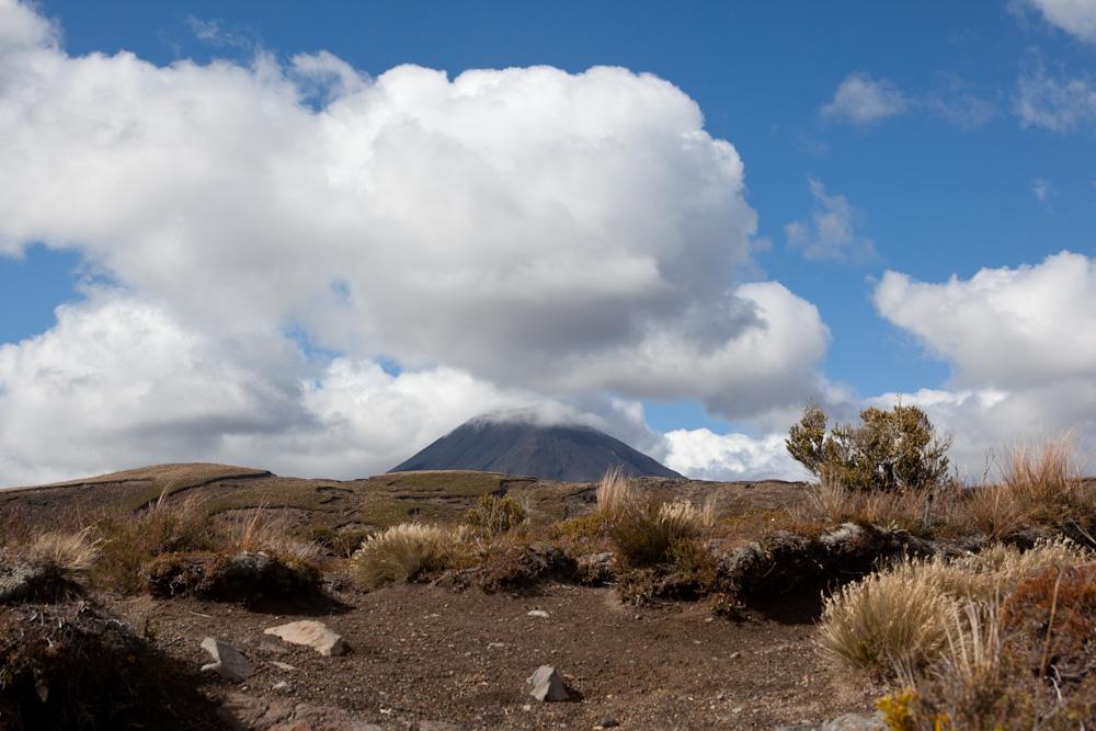 Mt. Ngaurohe (auch mit Mütze...)