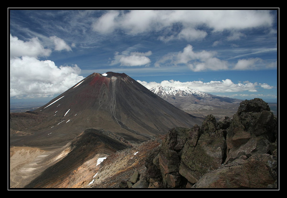 Mt. Ngauruhoe (Tongariro National Park)