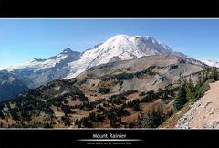 Mt. Rainier :: Ein Panorama zum Träumen