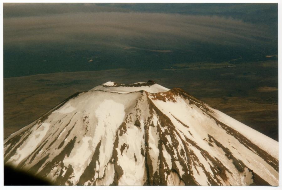 Mt. Ruapehu Dezember 1995 (Fotoscan)