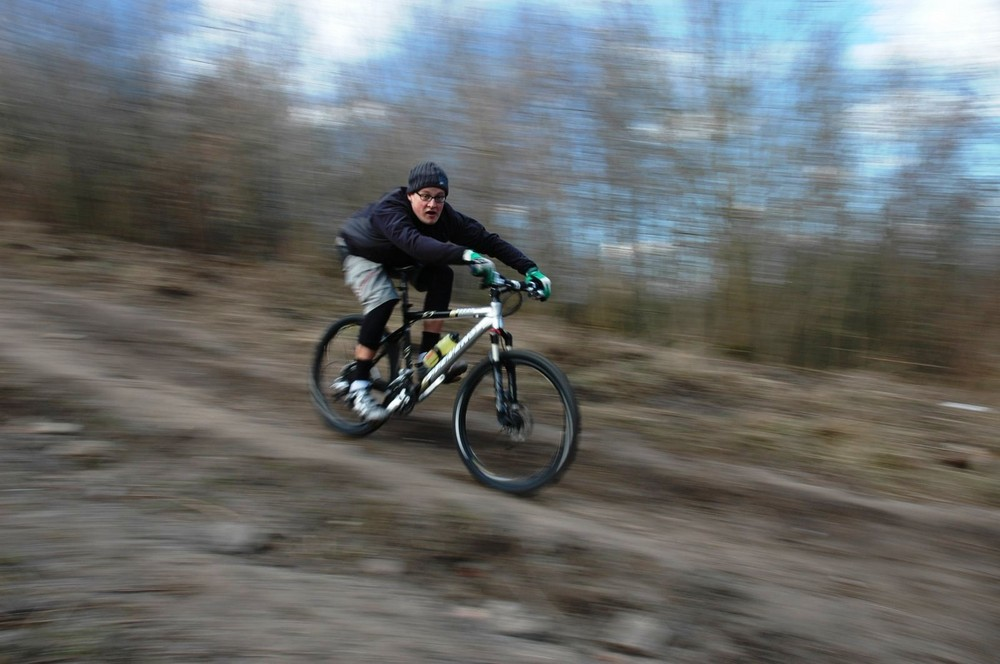 MTB Trailen in Berlin
