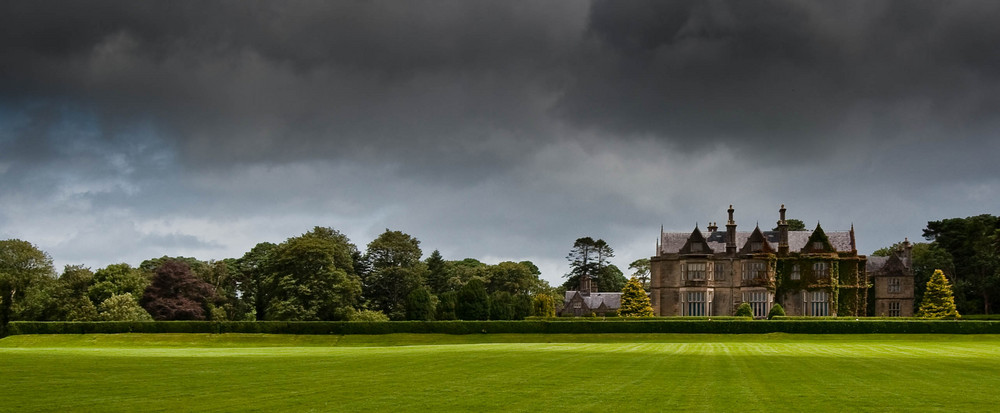 muckross house on a typical summer day :-)