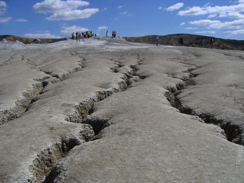 Muddy Volcanoes, Buzau, Rumaenien