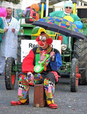 Müder Clown