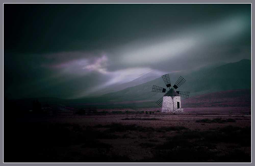 Mühle am Morgen auf Fuerte