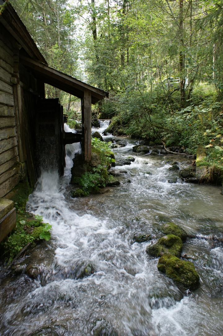 Mühle am rauschenden Bach