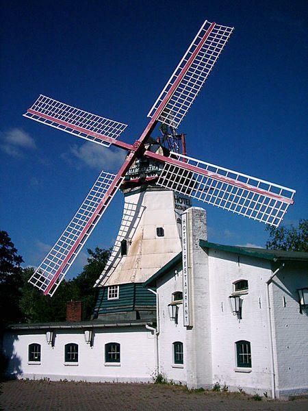 Mühle an der Nordsee