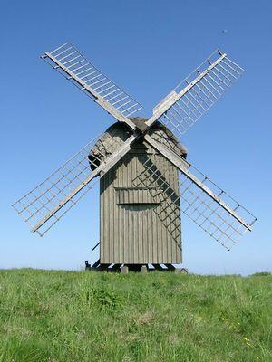 Mühle auf der dänischen Insel Samsö