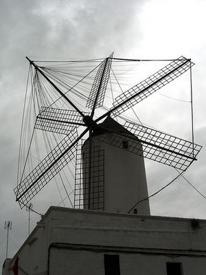 Mühle auf Menorca