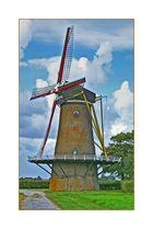 Mühle auf Schouwen-Duiveland