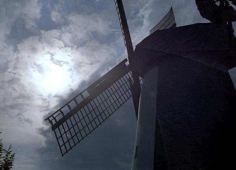 Mühle Dützen II - durch die Augen einer Zenit