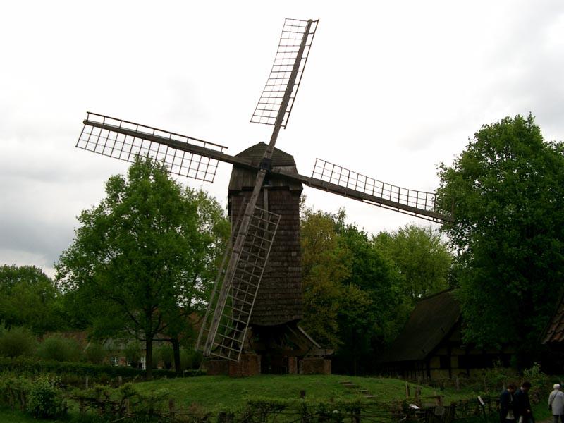 Mühle im Freiluftmuseum Münster