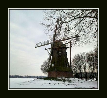 Mühle im Schnee...