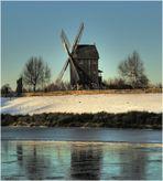 * Mühle in der Abendsonne *