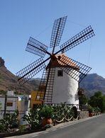 Mühle in der Ebene von La Aldea de San Nicolás