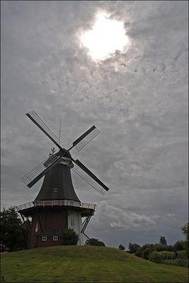 Mühle in Gretsiel