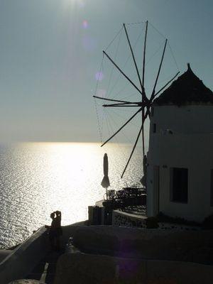 Mühle in Grichenland