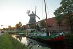 Mühle in Großefehn, Ostfriesland