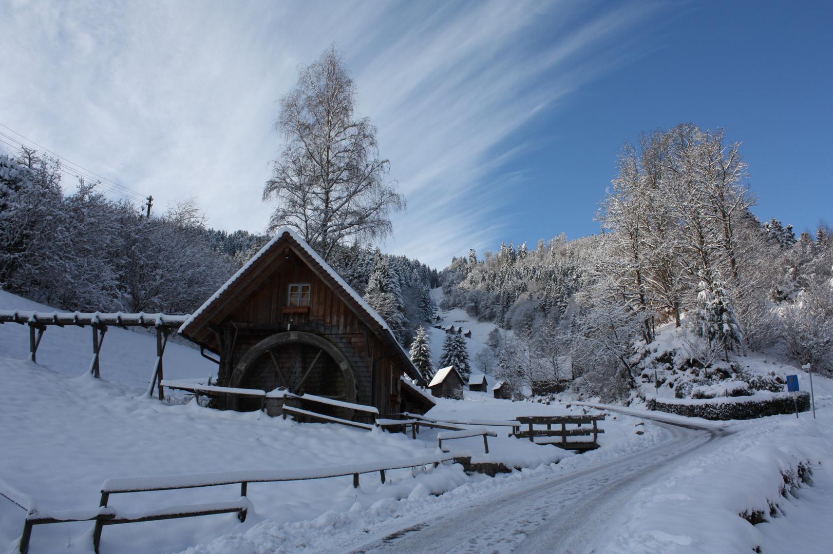 Mühle in meinem Heimatdorf
