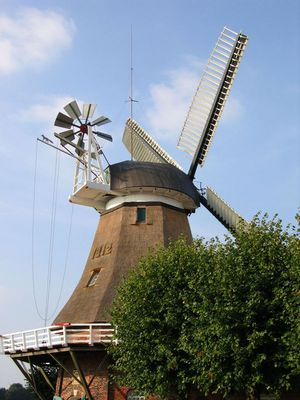 Mühle in Ostfriesland,- Hesel