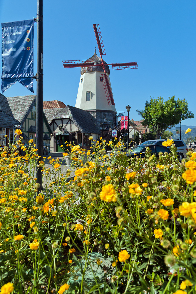Mühle in Solvang